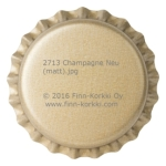 2713 Champagne crown corks